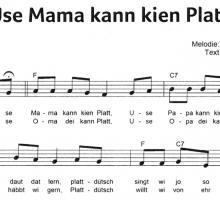 Use Mama kann kien Platt